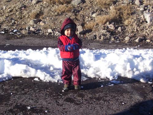 Adrian at Mount Shasta